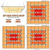 SPIDER FARMER SF-1000 LED Grow Light Use with