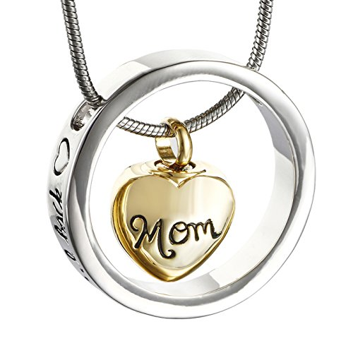 Cremation Necklace Screw Pendant Jewelry product image