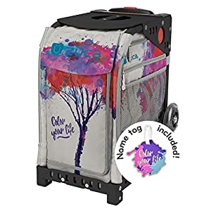 """ZUCA """"Color Your Life Sport Insert Bag with Matching Name Tag Choose Your Frame Color"""