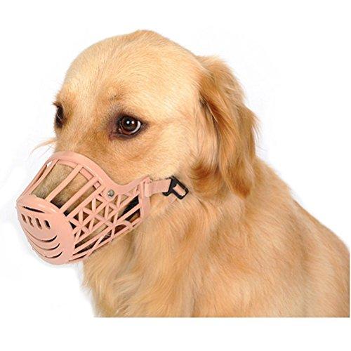 hii-yo-pet-dogs-muzzle-adjustable-fit-plastic-muzzle-basket-cage-dog-muzzle