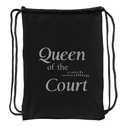 Eddany Queen of the Catch Wrestling court Sport Bag by Eddany