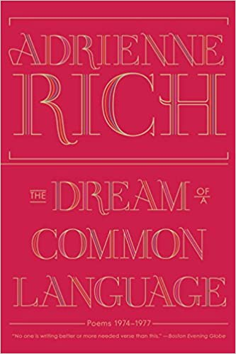 Image result for The Dream of a Common Language book cover