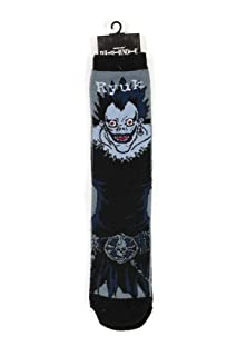 Loot Crate Death Note Socks Size 39-43 Case Survivor LC Exclusive (5) Calzature Castle Contract Packers Ltd