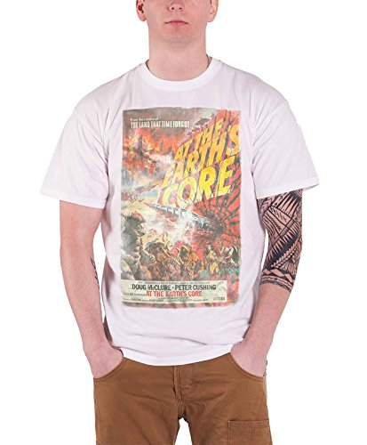 intage Movie Poster Official Mens White T Shirt (Core Movie Poster)
