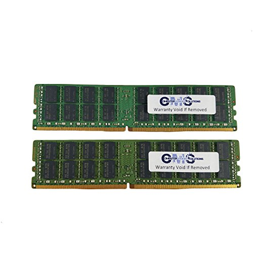 32Gb (2X16Gb Memory Ram For Dell Poweredge R730 Ddr4 EccR For Server Only By CMS B5