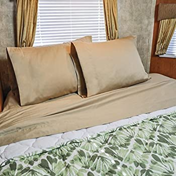 Amazon.com: 49x75 with curve RV Sheet Set 100% cotton for