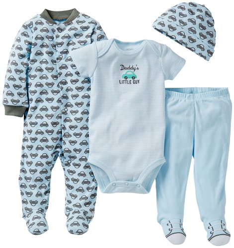 "Carter's ""Whales Everywhere"" 4-Piece Set"