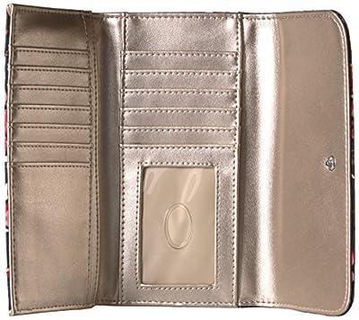 GUESS Huntley Floral Slim Clutch Wallet