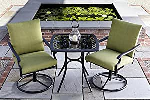 Garden Oasis Rockford 3pc Bistro Set
