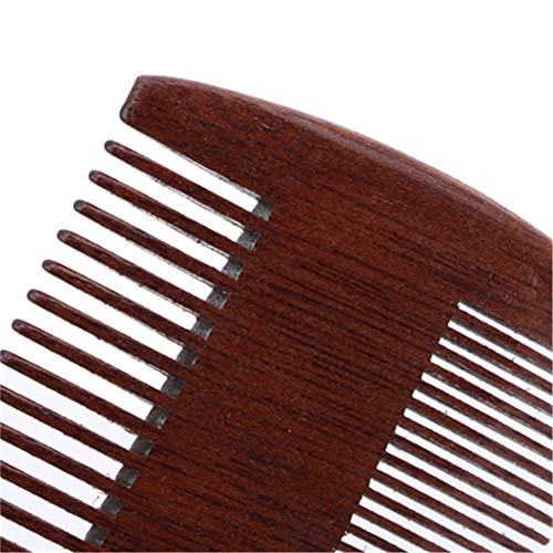 LZIYAN Densities Teeth Wooden Hair Comb Anti-Static Double Tooth Comb Portable Straight Hair Comb For Men And Women by LZIYAN (Image #5)