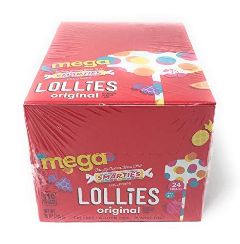(Smarties Mega Double Lollies (24)