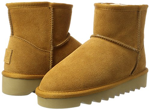 Of California In Femme De CamoscioBottes Stivale Neige Tan Beigetan Colors w80OkPn