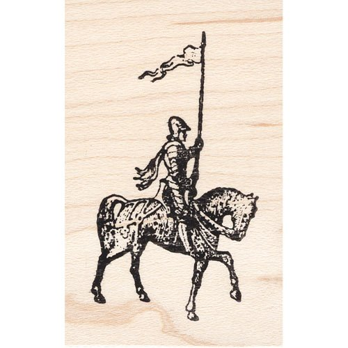 Royal Rubber Stamp - Flag Knight Rubber Stamp