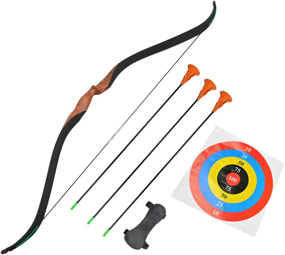 20lbs ARCHQUICK Recurve Bow Junior Kit Youth Kids Archery Target Beginner Sports