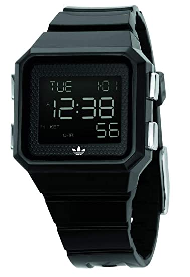 Adidas ADH4003 - Reloj para hombres, correa de silicona color negro: Amazon.es: Relojes