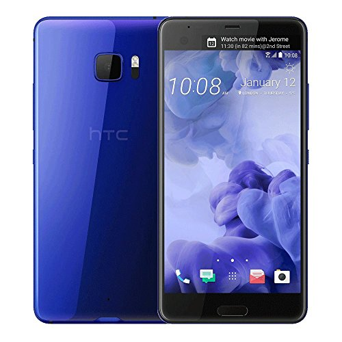 HTC U Ultra 64GB GSM Unlocked Smartphone, Sapphire Blue (Dual-Display | 16MP+12MP Cameras | 3D Audio | HTC Sense)