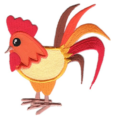 (PatchMommy Iron On Patch, Rooster - Appliques for Kids Children)