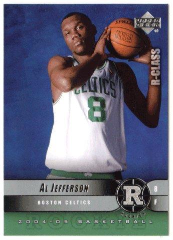 Al Jefferson RC (Basketball Card) 2004-05 Upper Deck R-Class # 106