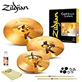 #8: Zildjian K Custom Hybrid Box Set (KCH390) Kit - Includes: Drumsticks, Felts, Sleeves, Cup Washers, ChromaCast Polish & Cloth