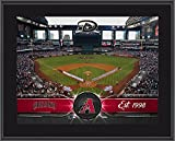 "Arizona Diamondbacks 10"" x 13"" Sublimated Team Stadium Plaque - MLB Team Plaques and Collages"