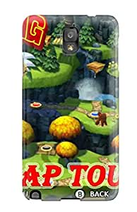 Jocelynn Trent's Shop 3273563K11775662 Premium Galaxy Note 3 Case - Protective Skin - High Quality For Donkey Kong Country: Tropical Freeze