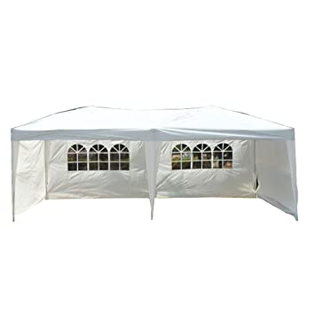 Goutime Uscanopy Easy Pop up Canopy Party Tent 10 X 20-feet W  sc 1 st  Amazon.com : pop up 10x20 canopy - memphite.com