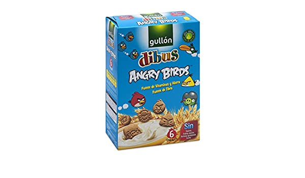 GULLON Dibus galletas angry birds caja 250 gr: Amazon.es: Alimentación y bebidas