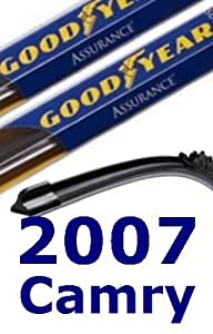 Goodyear Windshield Wipers >> Amazon.com: 2007 Toyota Camry Replacement Windshield Wiper ...