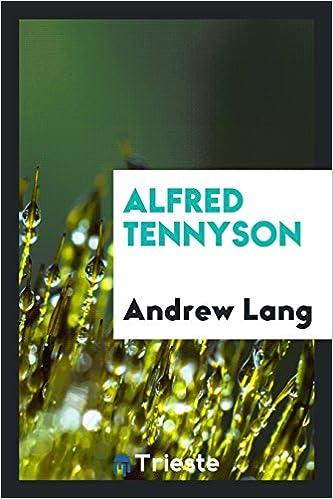 Book Alfred Tennyson