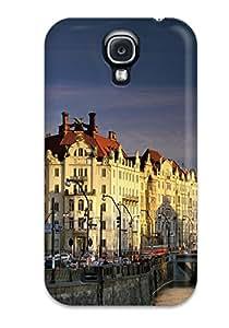 Nannette J. Arroyo's Shop Top Quality Case Cover For Galaxy S4 Case With Nice Vltava River Czech Republic Appearance 2398268K51794023