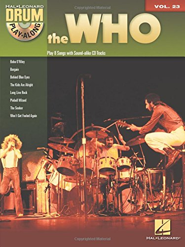 The Who: Drum Play-Along Volume 23 (Book/CD)