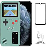 Game Case for Samsung Galaxy S10, Retro 3D Protective Cover Case with 36 Small Game, Full Color Display, Shockproof…
