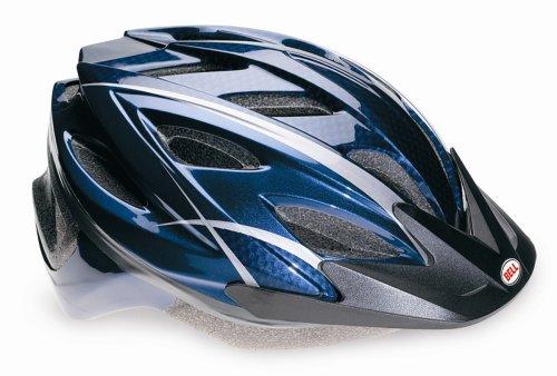 Bell Adrenaline Bike Helmet (Blue, fits Head Size 23-1/4-24)