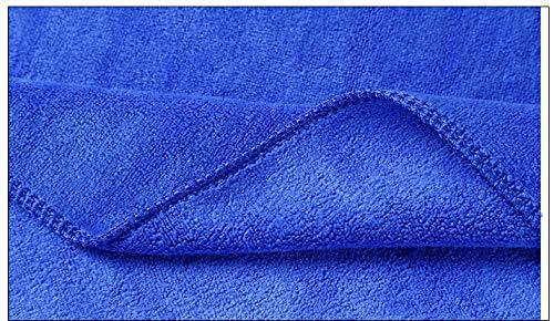 Cirage et s/échage HeyFun Lot de 10 Serviettes en Microfibre pour Voiture 40 cm x 40 cm 420 g//m/² pour Nettoyage