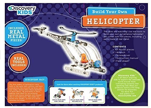 Discovery Kids Build Your Own Helicopter (Build Helicopter compare prices)