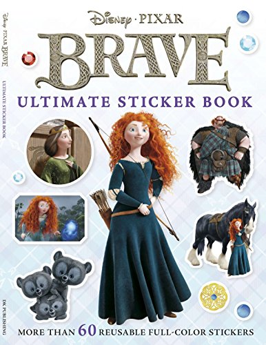 Ultimate Sticker Book: Brave: More Than 60 Reusable Full-Color Stickers (Merida Stickers)
