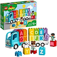 LEGO DUPLO My First Alphabet Truck 10915 ABC Letters Learning Toy for Toddlers, Fun Kids' Educational Building