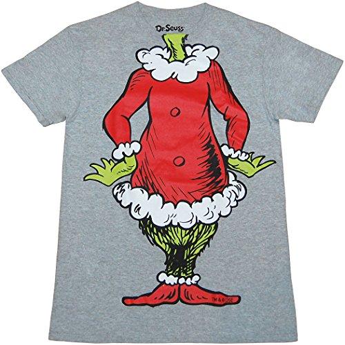 e662cf33a Hybrid Dr. Seuss Grinch Santa Costume T-Shirt (XX-Large)