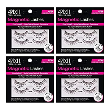 5116b0c52e0 Amazon.com : Ardell Magnetic Lashes Accents Double 110 (4 Packs) : Beauty