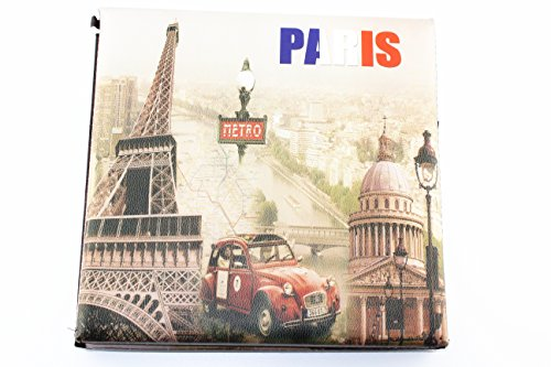 - Vintage Style Paris Metro Home Folding Storage Ottoman Bench Seat for Living Room Bedroom (Paris Metro)