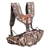 Isafish Fly Fishing Hunting Vest Backpack Outdoor Multifunctional Camouflage Color Waist Bag for Climbing Hiking and Travelling