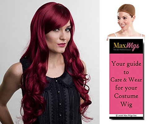 ashli Deluxe Mermaid Sea Siren Color Rust - Enigma Wigs Women's Nymph Ashley 30