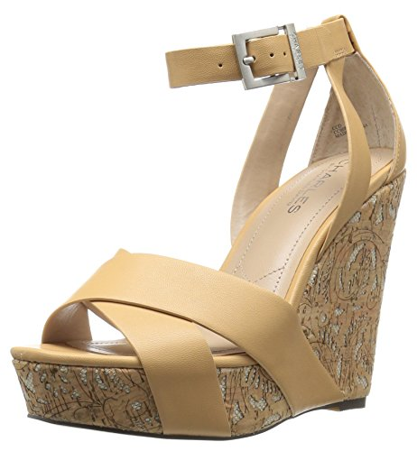 Sandal David Wedge Charles by Women's Amsterdam Natural Charles xpqP7gY