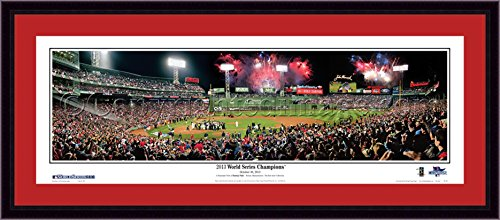 Boston Red Sox Deluxe Stadium Panorama (2013 World Series Champions) (Series Dynasty Sox)