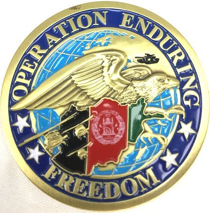 Operation Enduring Freedom Coin Afghanistan Coin Military Collectibles Men Women by EC (Operation Enduring Freedom Coin)