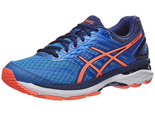 ASICS Women's GT-2000 5 Running Shoe, Regatta Blue/Flash Coral/Indigo Blue, 7 Medium - Running Blue