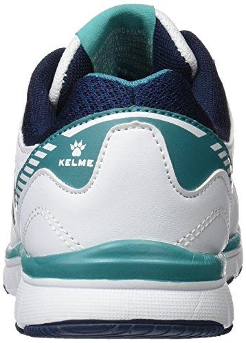 Kelme Seatle Flat 4.0, Women's Sneakers White (White)