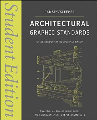 Amazon.com: Architectural Graphic Standards: Student