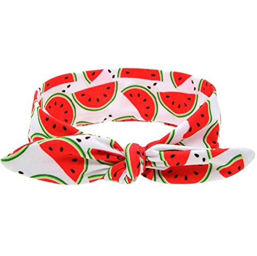Demarkt Baby Girls Headbands Watermelon Fruit Hair Band Bows Hair Band Bows Accessories (Watermelon) ()
