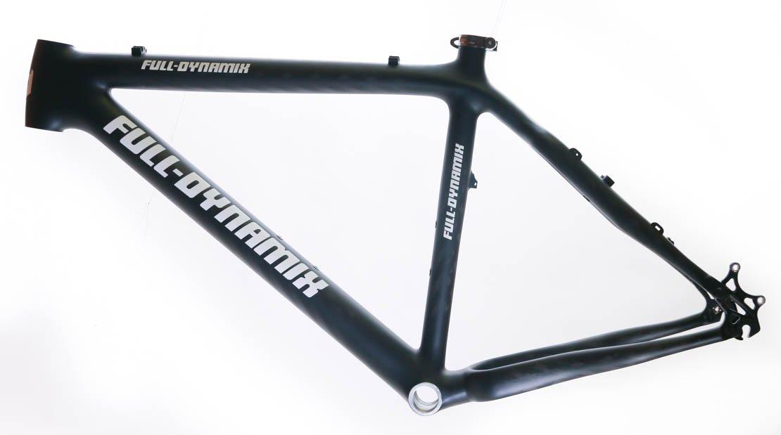 Italian Full Dynamix Moon 21'' Carbon Fiber 26 Hardtail Bike Frame MSRP $1999 NEW